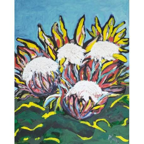 Protea (80cm x 60cm)